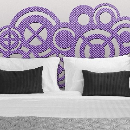 cabezales de cama economicos de colores para el dormitorio Zeppelin