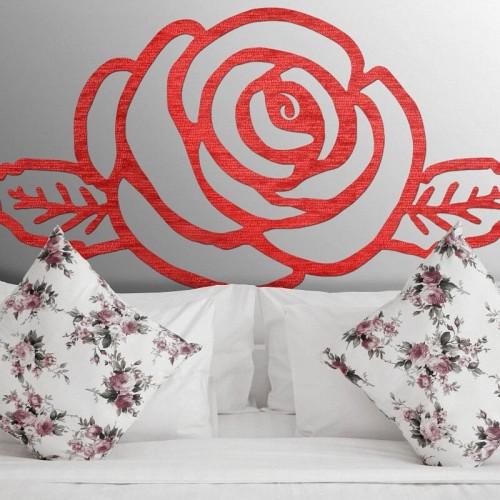 En nuestra colección de cabeceros de cama originales, no nos olvidamos de la belleza sustancial de las flores.