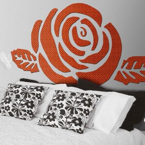 Cabezal original para la cama de matrimonio Chiza