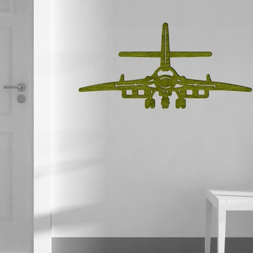 Decoracion de pared con aviones y vehiculos