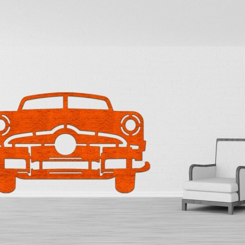 Decoracion de pared con vehiculos y coches