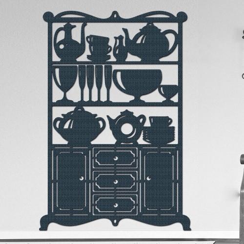 Decoracion con murales de muebles para la cocina