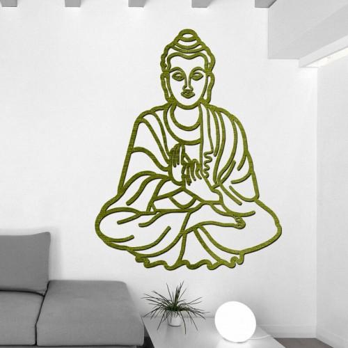 Decoracion con murales de budas para decorar dormitorios
