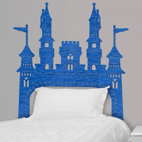 comprar cabecero de cama infantil del castillo de walt Disney para la pared