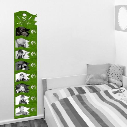 Decoración de paredes con murales de marcos de fotos para dormitorios juveniles