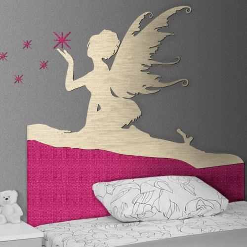 comprar cabezal infantil de campanilla de Peter pan para la cama del dormitorio