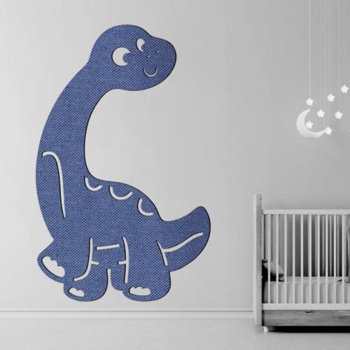 Decoración para ambientes de bebe Dino Dinosaurio de tejido 3D para pared