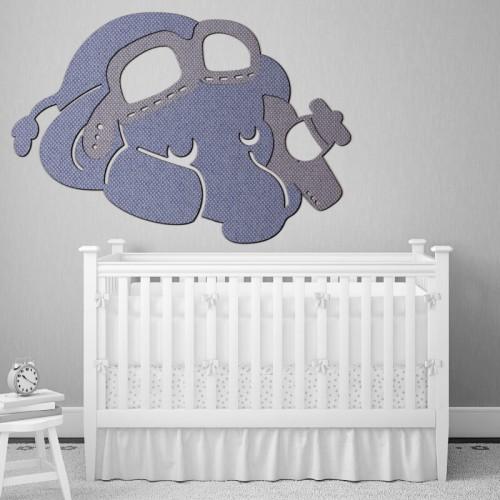 Comprar mural de Dumbo el elefante para decorar la pared de la cuna