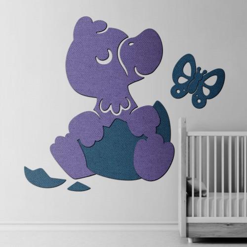 Lucas pato para decorar pared de bebé recién nacido