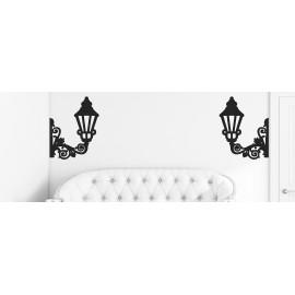 Luminarias y lámparas de pared en tejido