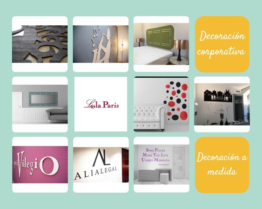 Decoración corporativa de proyectos visual mercandiser, stands y espacios efímeros o definitivos