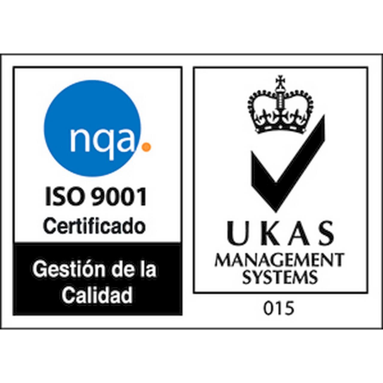 Certificado de calidad ISO en nuestra fabricación de decoración mural