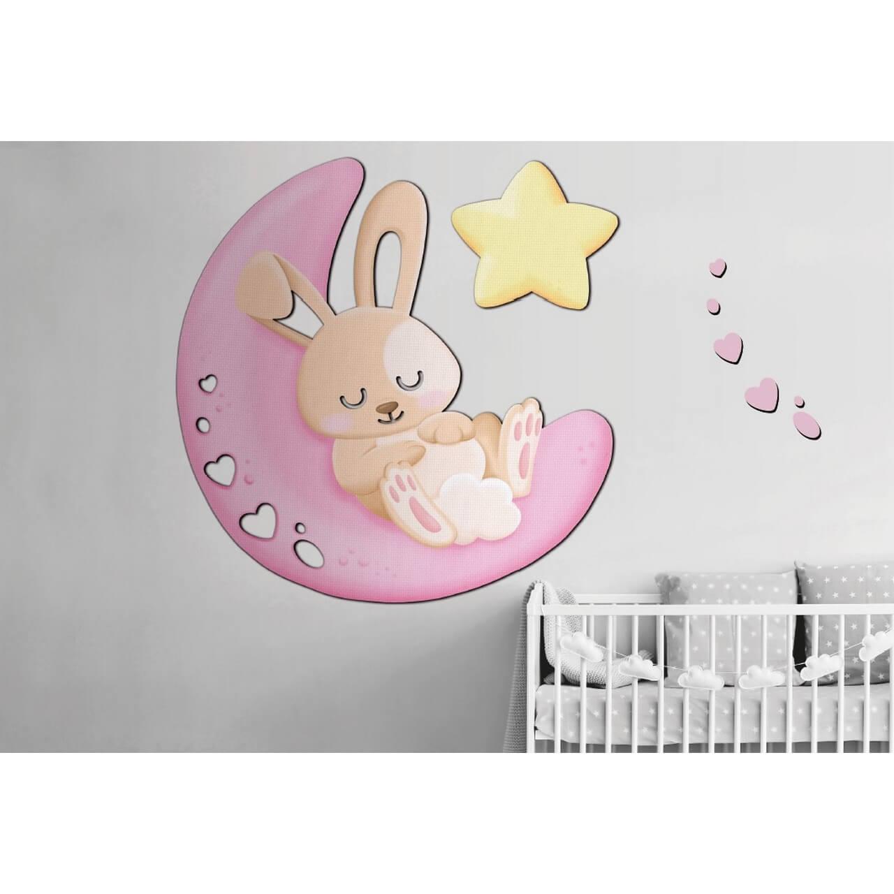 decoración mural para niños de 0 a 3 años de Lola Paris